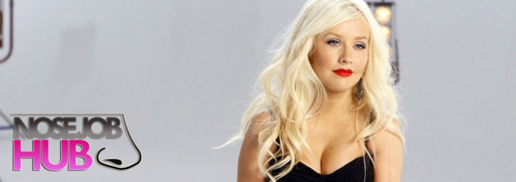 Christina Aguilera Before and After Nose Job