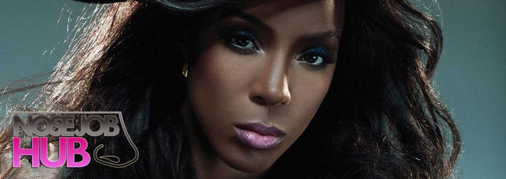 Kelly Rowland Before and After Nose Job
