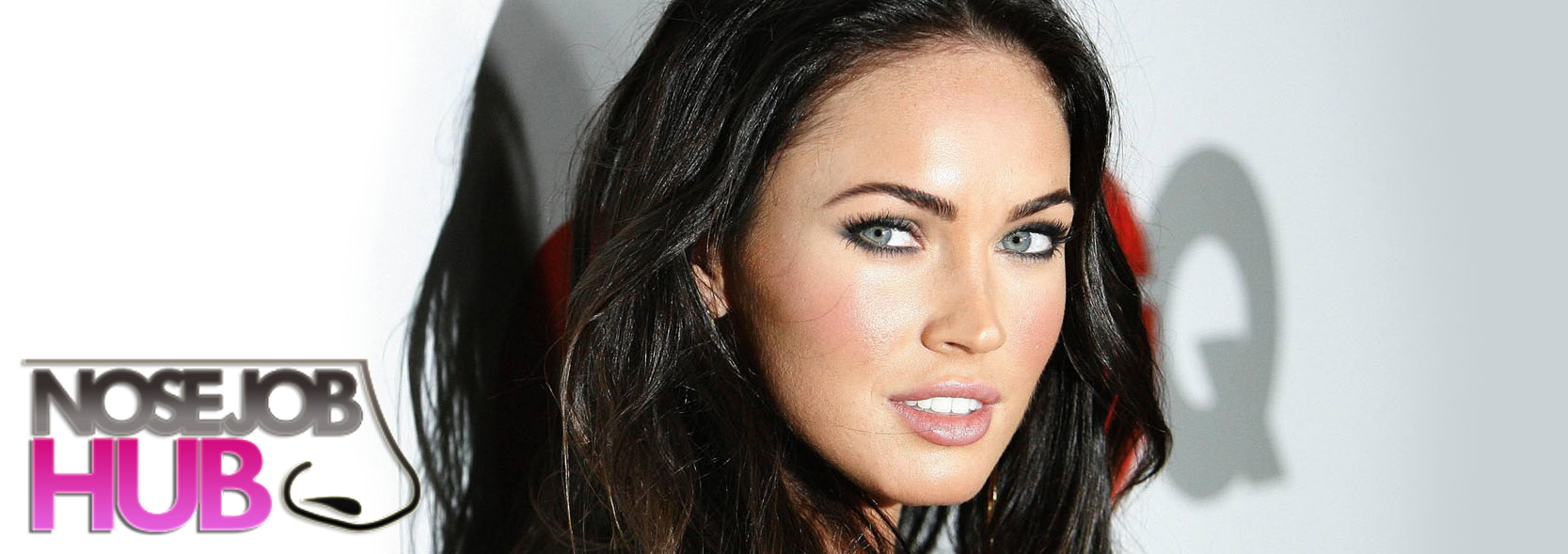 Megan Fox Before and After Nose Job