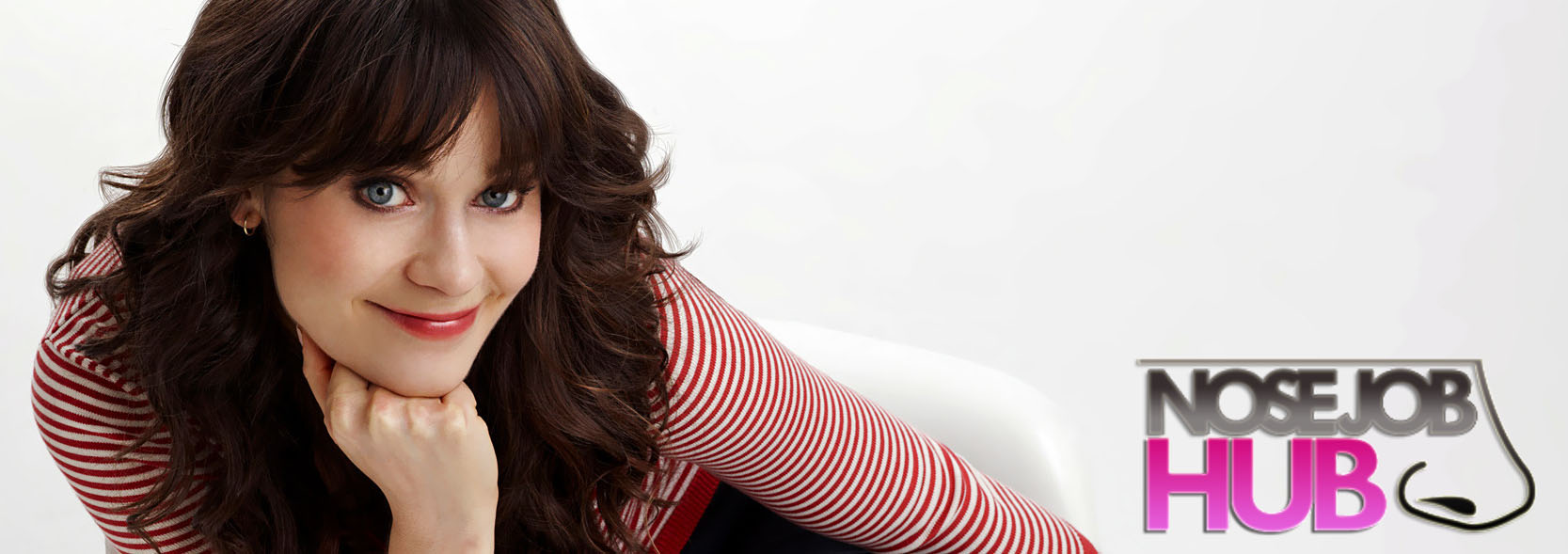 Zooey Deschanel Before and After Nose Job